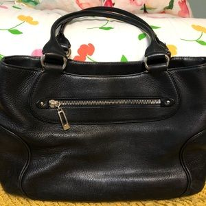 COLE HAAN Leather Tote Bag, Like New